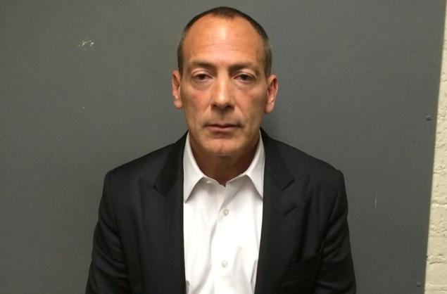 Steve Croman is seen Monday after he surrendered to authorities.